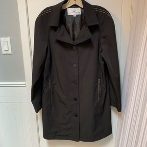 Women's Alfred Sung Lined Trench Jacket